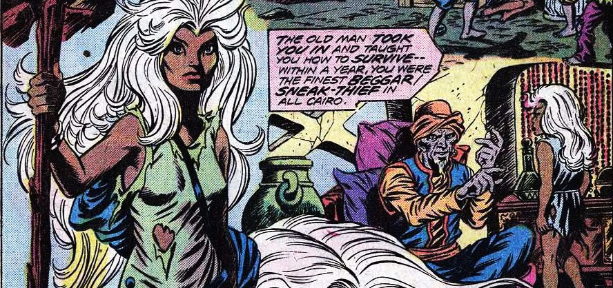 Our X-Men Storm spotlight begins with Ororo's first appearance.