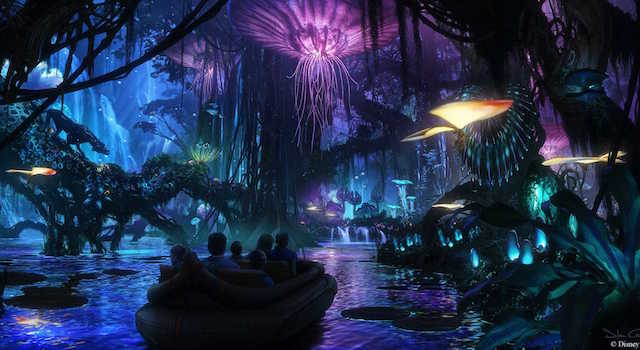 Take a look inside the World of Avatar.