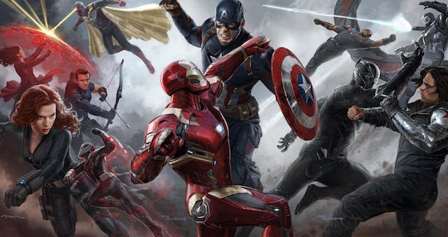 Take a look at all the different Captain America: Civil War characters.