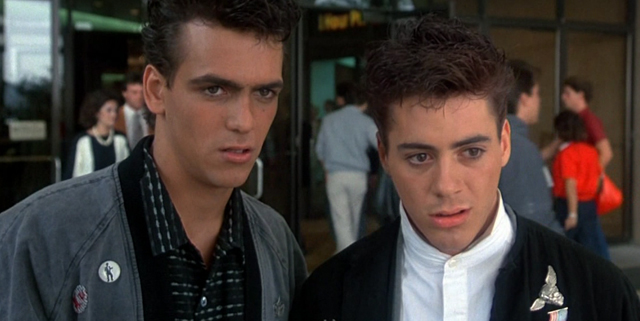 Our Robert Downey Jr movies list begins with Weird Science.