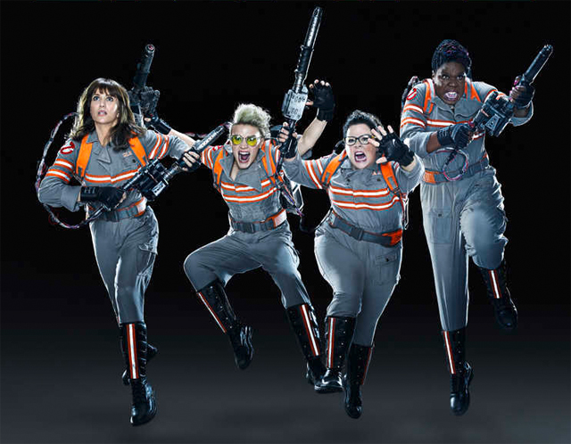 Ghostbusters Land the Cover of Empire in a New Look at the Team