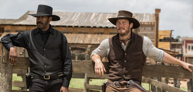 Antoine Fuqua directs The Magnificent Seven.