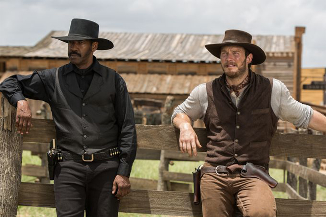 First Magnificent Seven Photos Featuring Denzel Washington & Chris Pratt