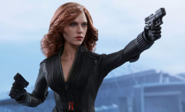 Captain America: Civil War's Black Widow Figure Revealed by Hot Toys
