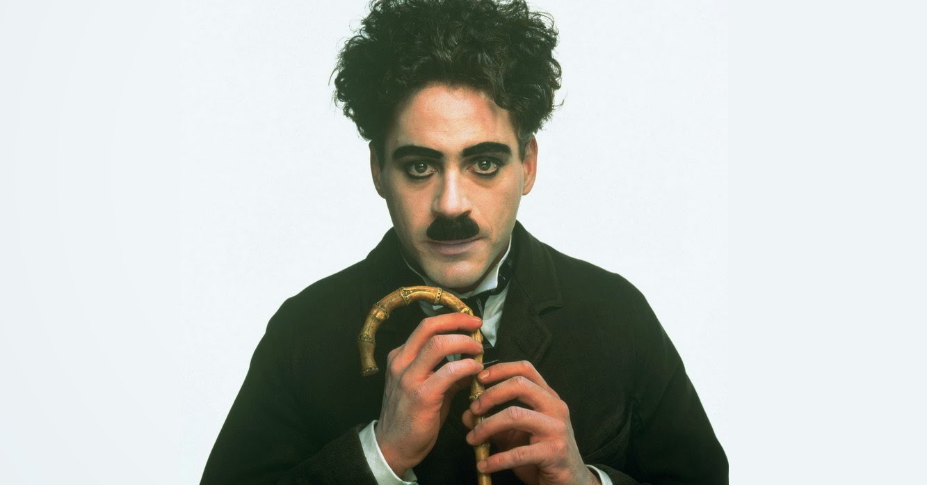 The Robert Downey Jr movies list includes his leading role in Chaplin.