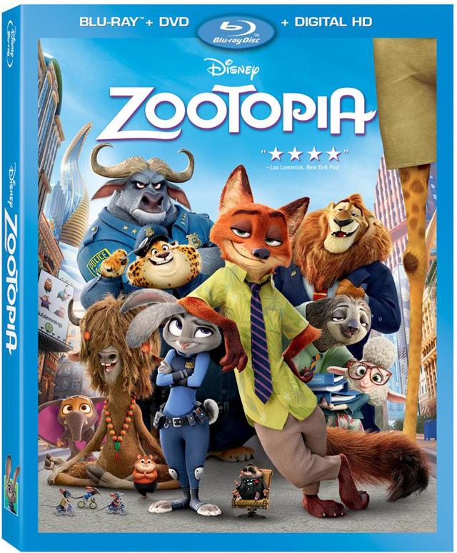 Zootopia Blu-ray and DVD Arriving on June 7