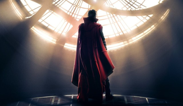 Welcome to the Sanctum Sanctorum in the Doctor Strange Poster!