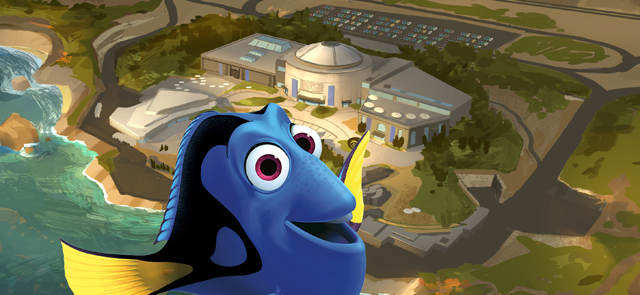CS goes behind the scenes of Disney Pixar's new Finding Dory movie.
