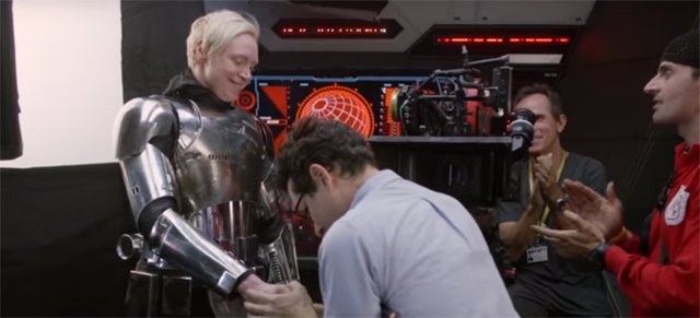 Go behind the scenes of the upcoming Star Wars: The Force Awakens Blu-ray.
