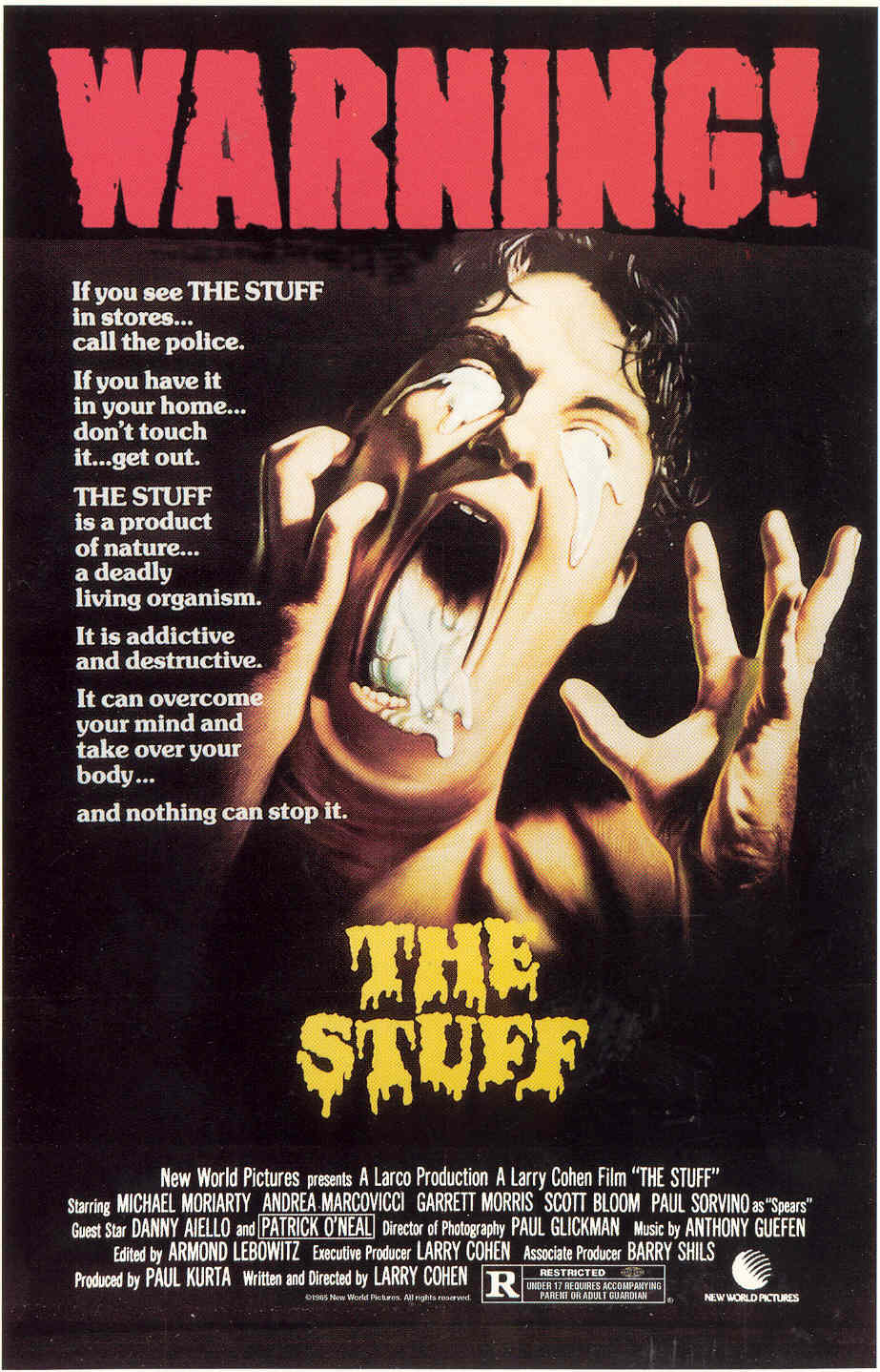 Blu-ray Review: Larry Cohen's THE STUFF - ComingSoon.net