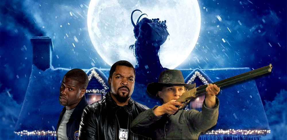 Krampus, Ride Along 2 and Jane Got a Gun arrive on Blu-ray and DVD April 26.