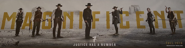 Magnificent Seven was featured in the Sony Pictures presentation.