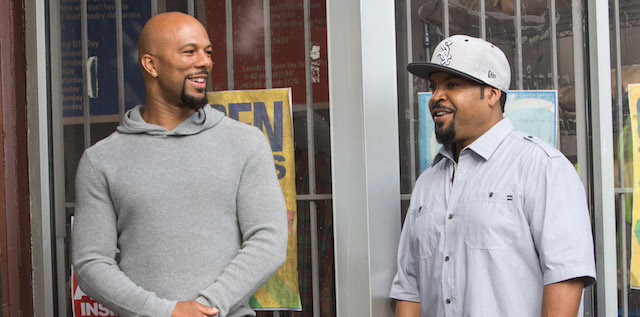 Common plays Rashad in Barbershop: The Next Cut.