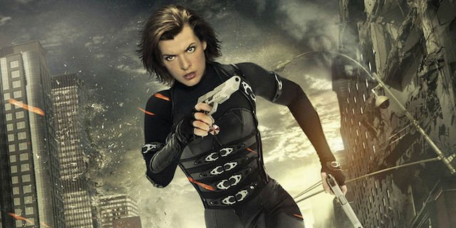 Resident Evil had a new trailer during the Sony Pictures presentation.