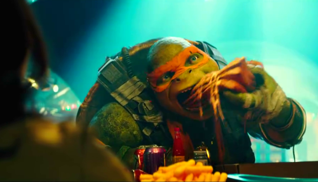 Chow Down on Pizza in New Teenage Mutant Ninja Turtles: Out of the Shadows Trailer Tease