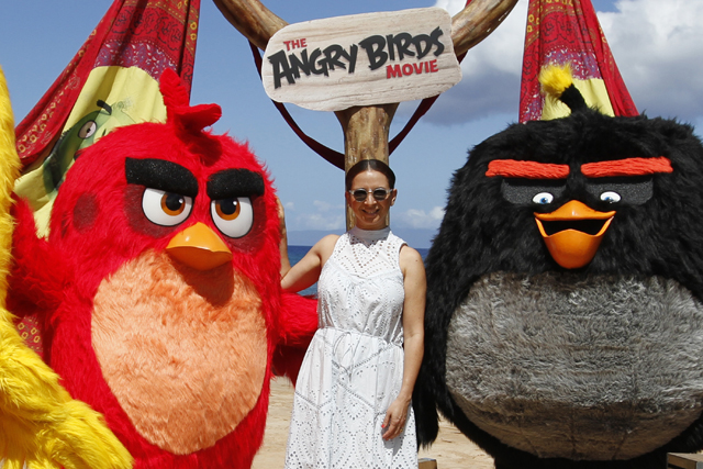 CS Interview: Maya Rudolph Talks Voicing Matilda in The Angry Birds Movie