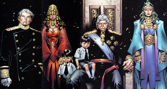 The House of M storyline was a very X-Men Magneto heavy story.
