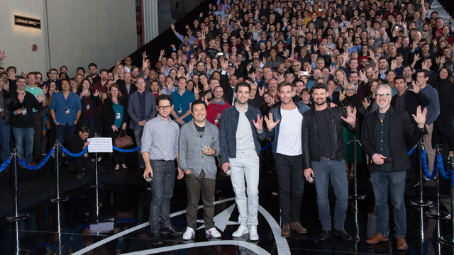 Star Trek fans joined Star Trek Beyond cast and crew for a tribute to Leonard Nimoy.