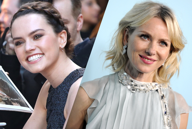 Daisy Ridley and Naomi Watts to Co-Star in Hamlet Reimagining Ophelia