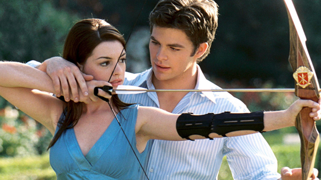 The Princess Diaries 2 is among the earliest Chris Pine movies.