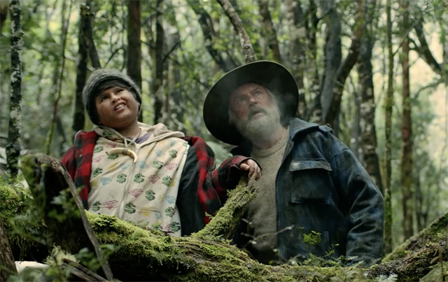 Sam Neill in the Hunt for the Wilderpeople Trailer and Poster