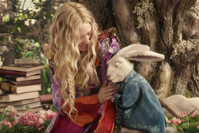 Watch Two New Alice Through the Looking Glass Clips