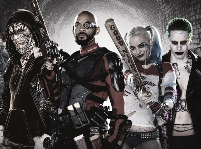 Suicide Squad Calendar Reveals New Images of Task Force X