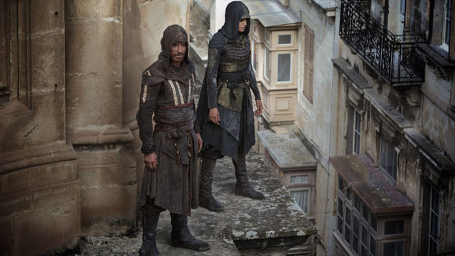 Take a look at the first 20 minutes of Justin Kurzel's Assassin's Creed.