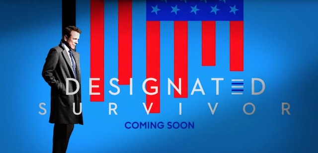 Designated Survivor is another of the new ABC 2016 series.