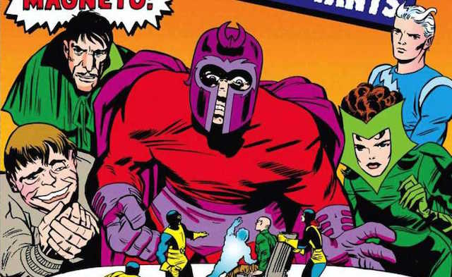The X-Men Magneto spotlight includes his time as the head of the Brotherhood.
