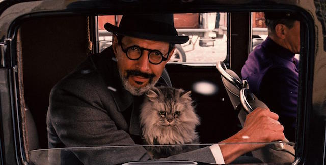 The Grand Budapest Hotel is one of the more recent Jeff Goldblum movies.