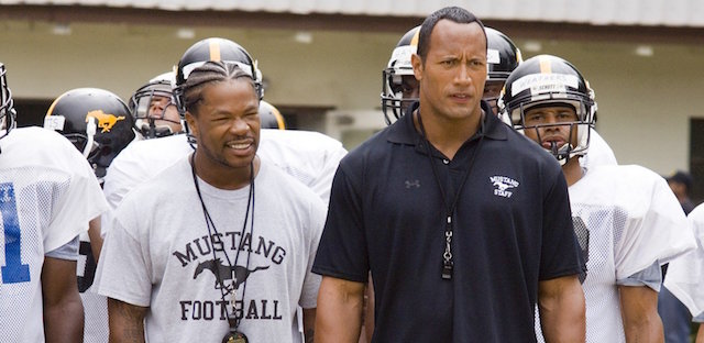 Gridiron Gang also belongs on our Dwayne Johnson movies list.