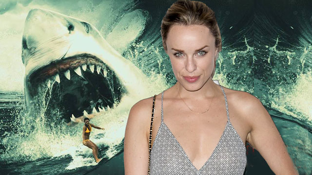 Jessica McNamee will head the prehistoric shark thriller Meg.