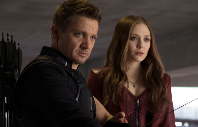 CS Video: Elizabeth Olsen and Jeremy Renner on Captain America