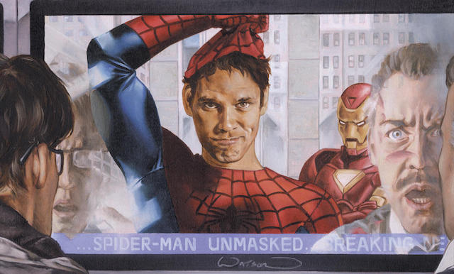 Spider-Man revealed his identity in the Civil War comics.