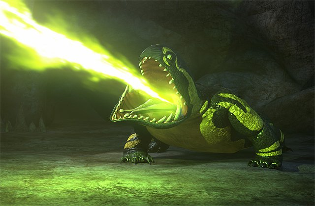 First Look at Cavern Crasher in Dragons: Race to the Edge Season 3
