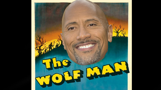 Wolfman Movie Reportedly Courting Dwayne Johnson