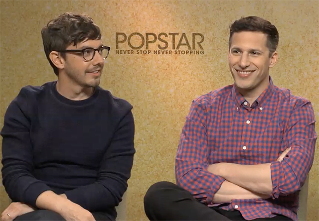 CS Video: The Lonely Island Talks Popstar: Never Stop Never Stopping