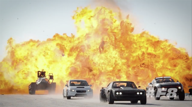 New Fast 8 Video Has All-Out Vehicular Warfare in Iceland