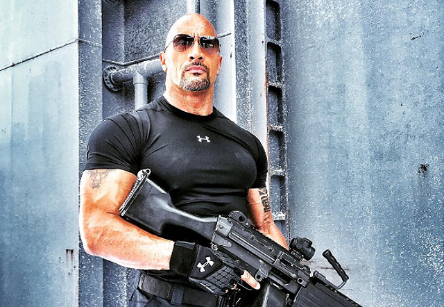 New Fast 8 Photo Features The Rock on Ice