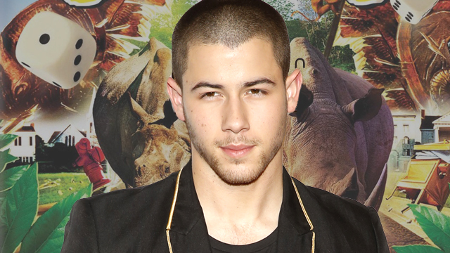 Nick Jonas is eyeing a role in the Jumanji reboot.