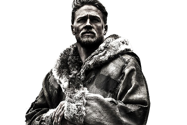 King Arthur Comic-Con Poster Featuring Charlie Hunnam & Excalibur