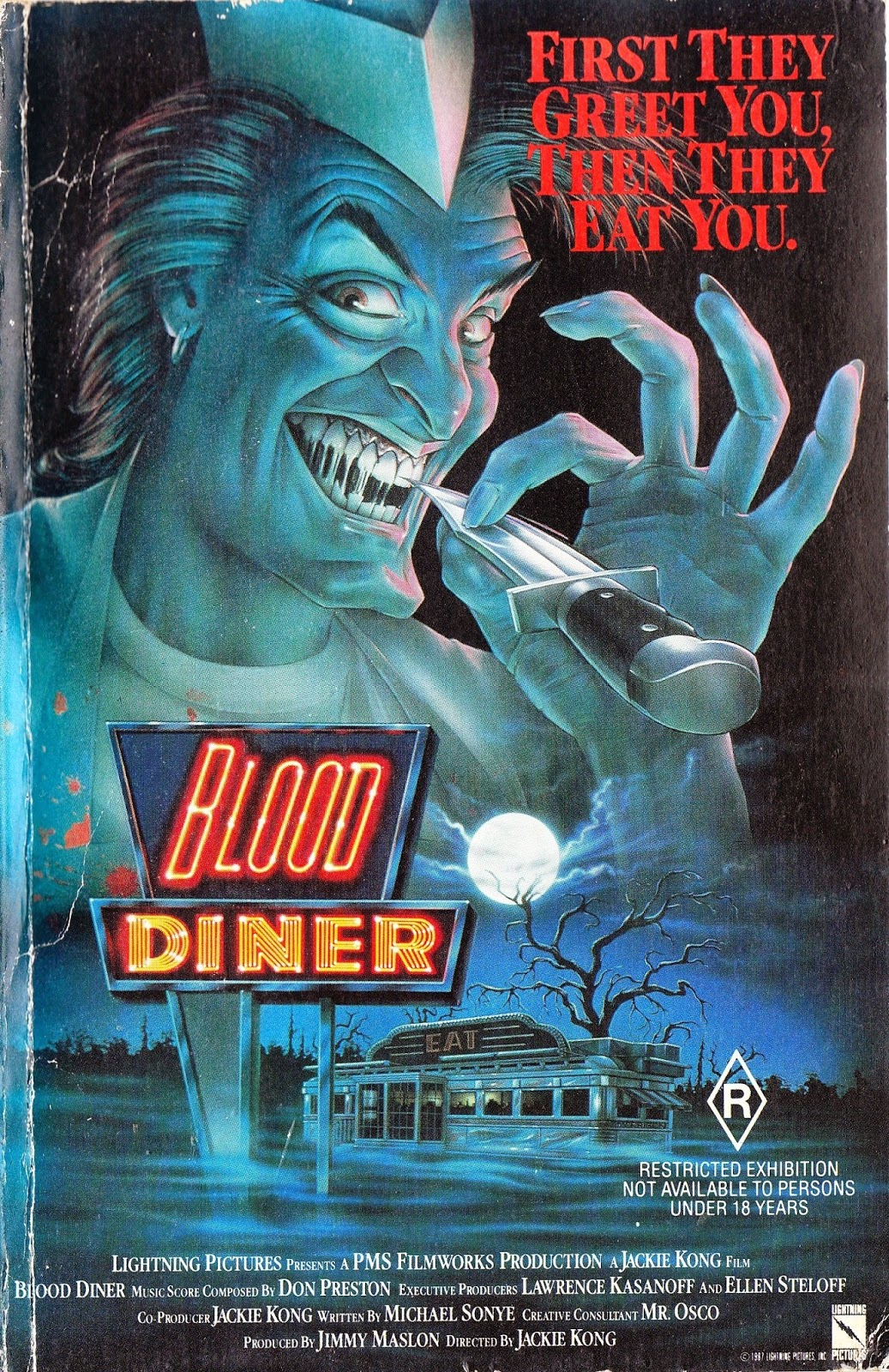 Exclusive! Cult Filmmaker Jackie Kong Launches BLOOD DINER ...