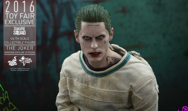 Hot Toys Suicide Squad Joker Figure Revealed