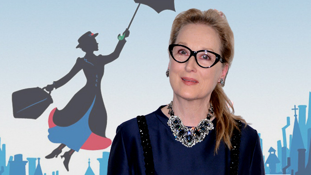 Meryl Streep has joined Mary Poppins Returns!