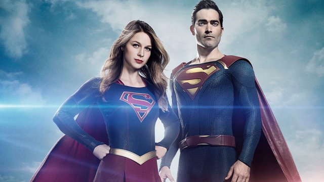 Check out Supergirl's new Superman in action!