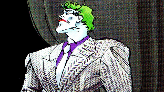 Frank Miller's legendary The Dark Knight Returns earns a spot on our best Joker comics list.