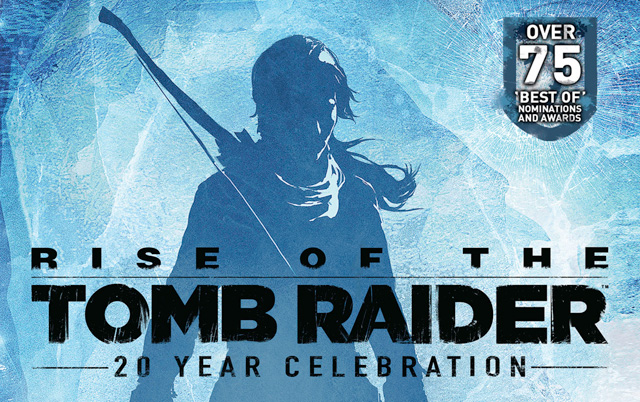 Resultado de imagem para Rise of the Tomb Raider: 20 Year Celebration
