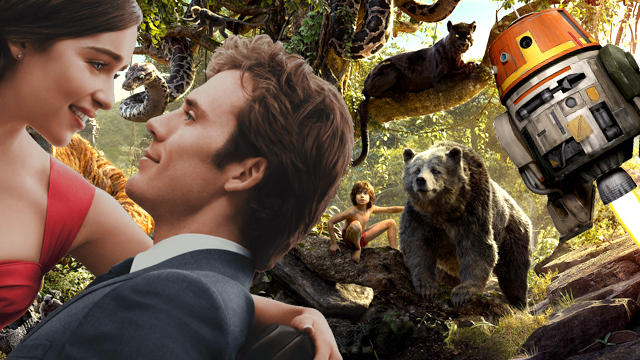 August 30 brings home Me Before You, The Jungle Book, Star Wars: Rebels and more!