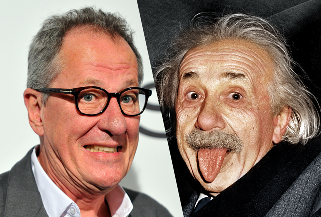 Geoffrey Rush to Play Albert Einstein in Genius Series